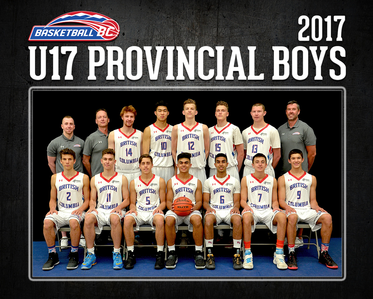 2017 rosters - basketball bc